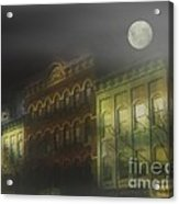 Northampton By Moonlight Acrylic Print