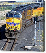 Northbound From Roseville At The Crooked Bridge Acrylic Print