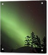 Northern Lights Disappear Acrylic Print