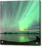Northern Lights In Iceland Acrylic Print