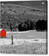 Northern Michigan Farm Sc Acrylic Print
