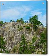 Northern Ontario Rock Face Acrylic Print