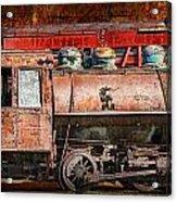 Northern Pacific Vintage Locomotive Train Engine Acrylic Print