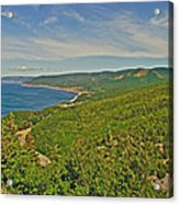 Northern Road Through Cape Breton Highlands Np-ns Acrylic Print