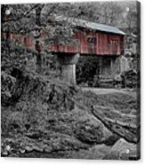 Northfield Falls Bridge Acrylic Print