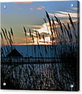 Ocean City Sunset At Northside Park Acrylic Print