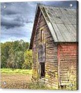 Northwest Barn Acrylic Print by Jean Noren