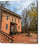Northwest Indiana Grist Mill Acrylic Print by Paul Velgos