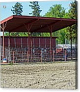 Northwest Rodeo Time Acrylic Print