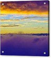 Northwest Sunrise Cloudscape Acrylic Print