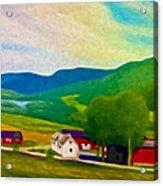 Norway Acrylic Print