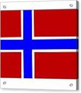Norway Flag Acrylic Print
