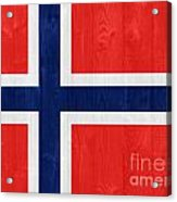 Norway Flag Acrylic Print