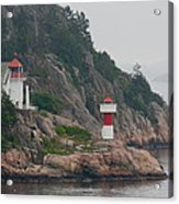 Norway Lighthouse 2 Acrylic Print
