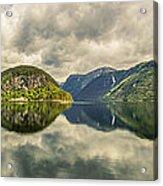 Norway Serenity In Panorama Acrylic Print