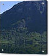 Norwegian Countryside Panorama Acrylic Print