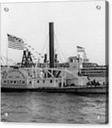 Norwich Steamboat, C1909 Acrylic Print