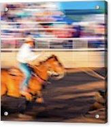 Norwood Colorado - Cowboys Ride Acrylic Print