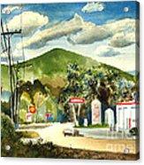 Nostalgia Arcadia Valley 1985  Acrylic Print