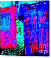 Not Fade Away - Tie Dye Acrylic Print