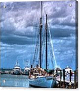 Not For Sail Acrylic Print