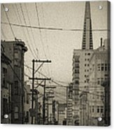 Not So Old San Francisco Acrylic Print