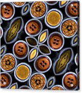 Not Your Mothers Button Box Acrylic Print by Jean Noren