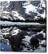 Notchtop Reflection Acrylic Print by Tranquil Light  Photography