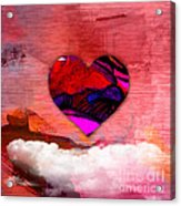 Nothing But Love Acrylic Print