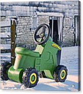 Nothing Runs Like A Deere #2 Acrylic Print