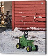Nothing Runs Like A Deere #4 Acrylic Print