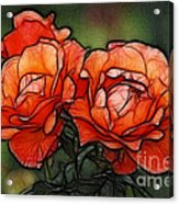 Nothing Sweeter Than A Rose Acrylic Print