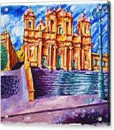 Noto Cathedral Sicily Acrylic Print
