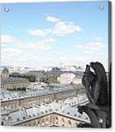 Notre Dame 2 Paris France Landscape Acrylic Print