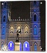 Notre-dame Basilica Of Montreal Acrylic Print