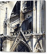 Notre Dame Cathedral Architectural Details Acrylic Print