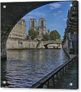 Notre Dame Cathedral Acrylic Print