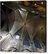 Notre Dame Ceiling South Acrylic Print