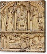 Notre Dame Detail Acrylic Print