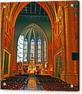 Notre Dame Of Luxembourg Acrylic Print