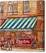 Notredame Circa 1940 Acrylic Print