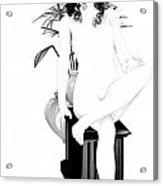 Nouveau Beauty Acrylic Print