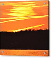 November 11 Sunrise 2014  Acrylic Print