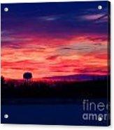 November 28 2014 Sunrise Acrylic Print
