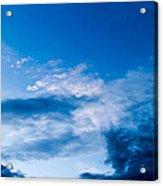 November Clouds 002 Acrylic Print