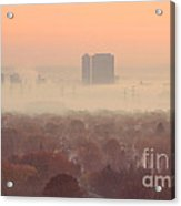 November Morning Fog Acrylic Print