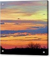 November Panorama Acrylic Print