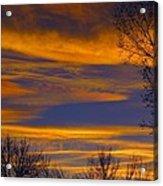 November Skies Acrylic Print