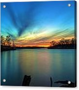November Sunset Acrylic Print