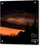 November's Breaking Dawn Acrylic Print